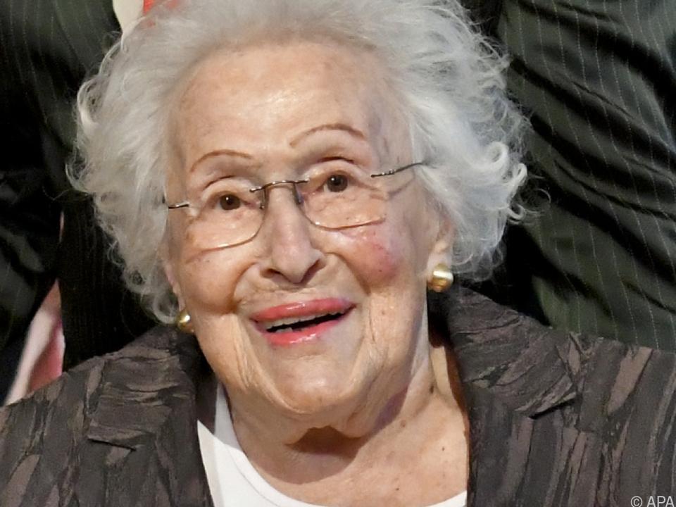 Die Kammersängerin Zadek wurde 101 Jahre alt