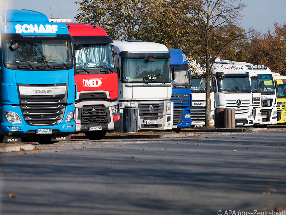 Die Lkw-Nachrüstungen sollen vom Bund finanziell unterstützt werden