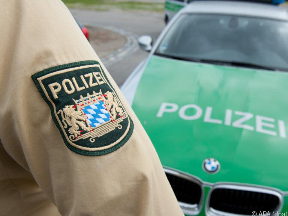 Die Münchner Polizei musste ein Liebespaar retten