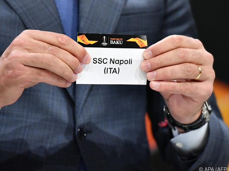 Die Salzburger treten gegen Napoli am 7. März auswärts an