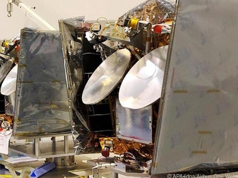 Die Satelliten von OneWeb könnten bald überall für Internetempfang sorgen