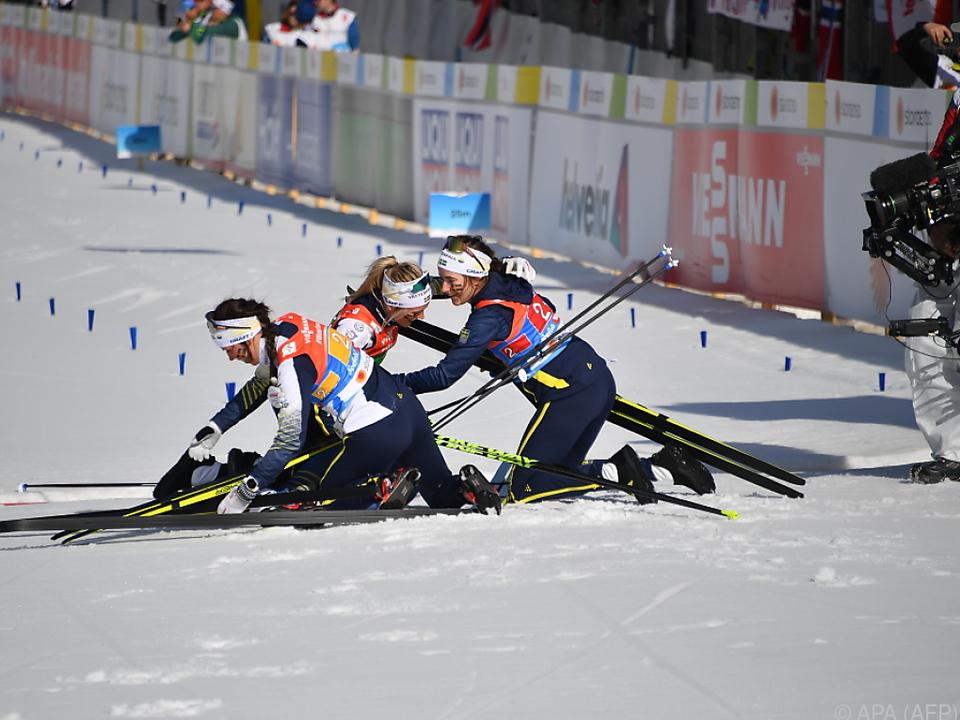 Die Schwedinnen triumphierten überraschend