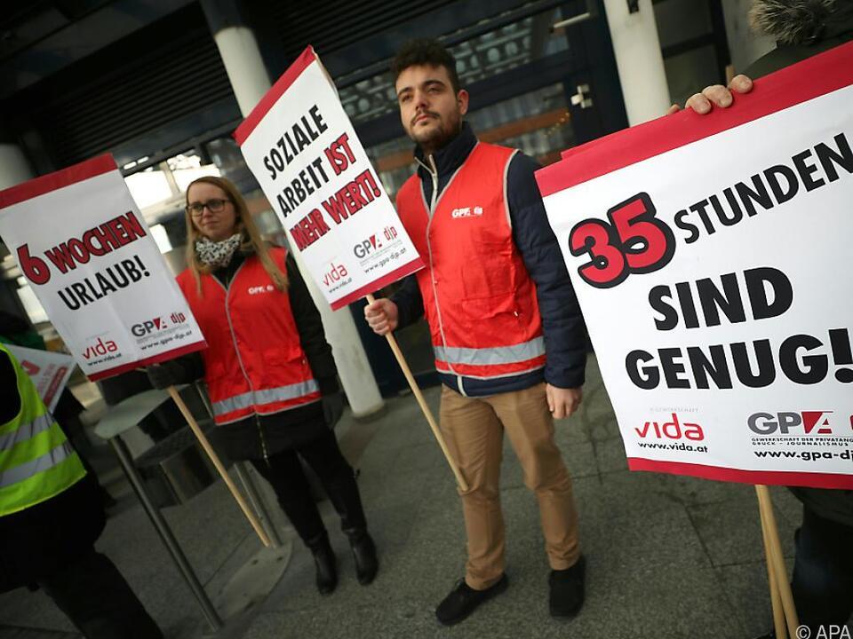 Die Streiks sollen drei Tage dauern