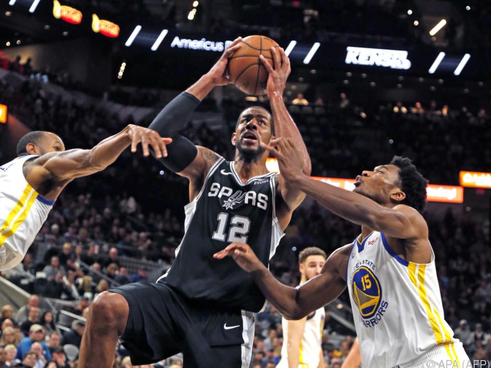 Die Warriors waren zu stark für die Spurs