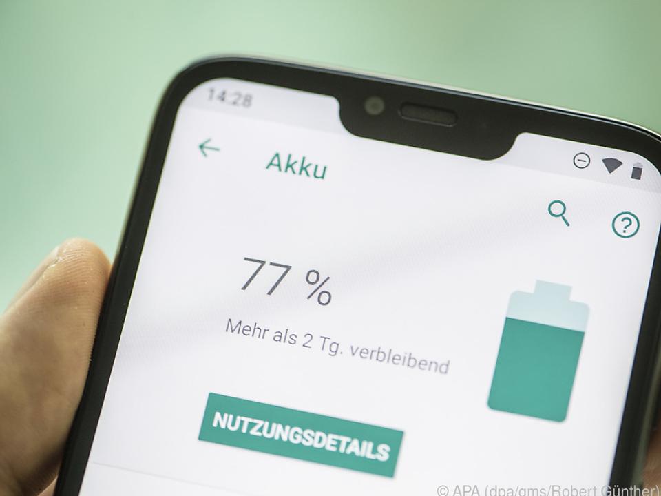 Das Moto G7 Power soll zweieinhalb Tage bei normaler Nutzung aushalten