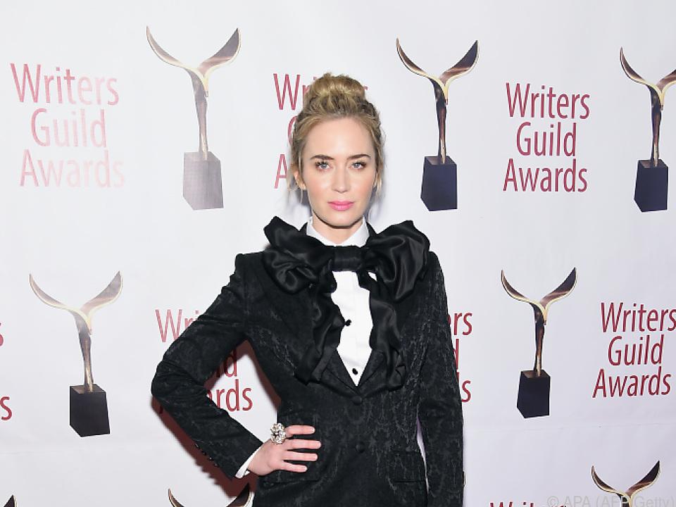 Emily Blunt überzeugte zuletzt als Mary Poppins