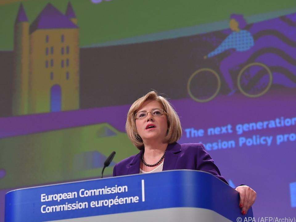 EU-Regionalkommissarin Cretu soll auf Anreizpolitik setzen