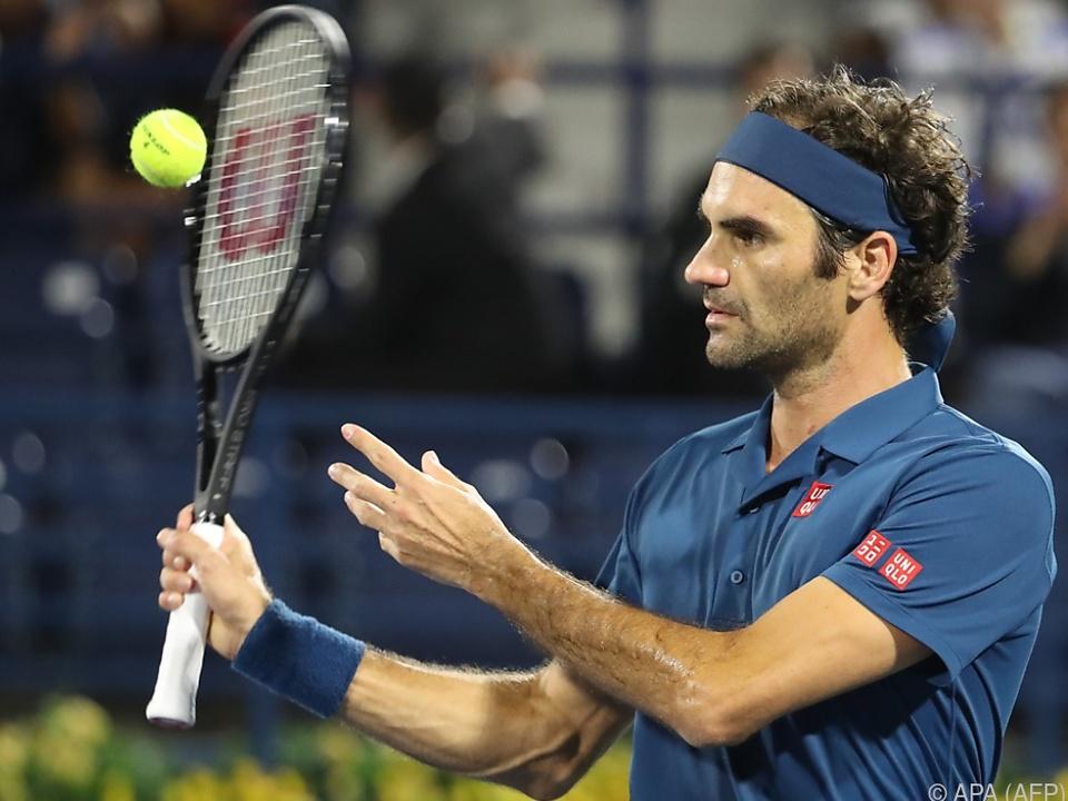 Federer macht vielleicht bald die 100 voll