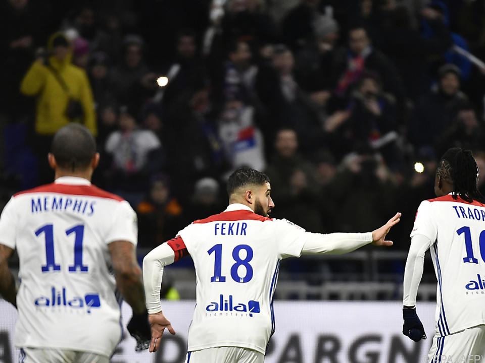 Fekir besiegelte die erste PSG-Niederlage