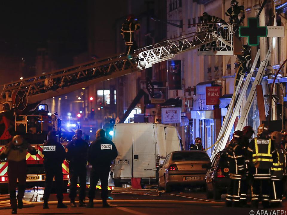 Feuerwehreinsatz nach Brand in Lyon