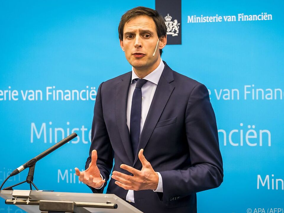 Finanzminister Hoekstra verkündete den Einstieg