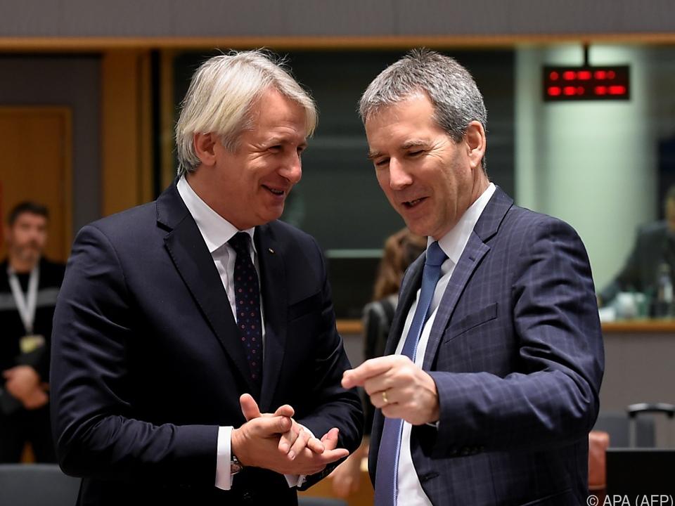 Finanzminister Löger im Gespräch mit rumänischem Amtskollegen