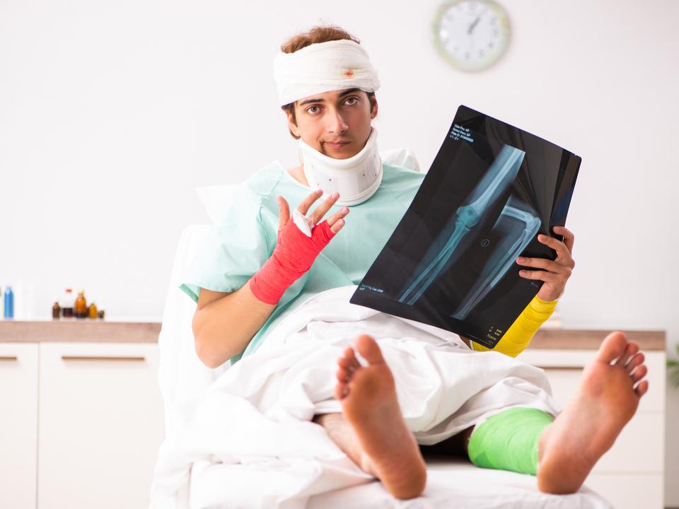 Gips Krankenhaus