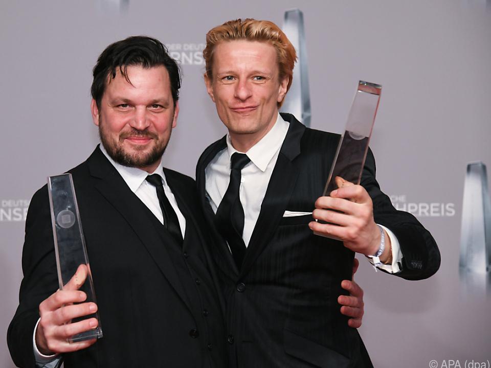 Freude bei den Preisträgern