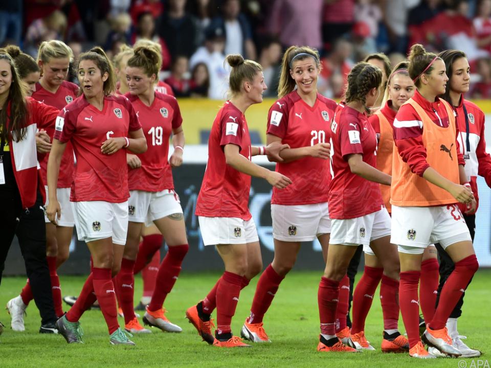Für die ÖFB-Damen geht es gegen Frankreich