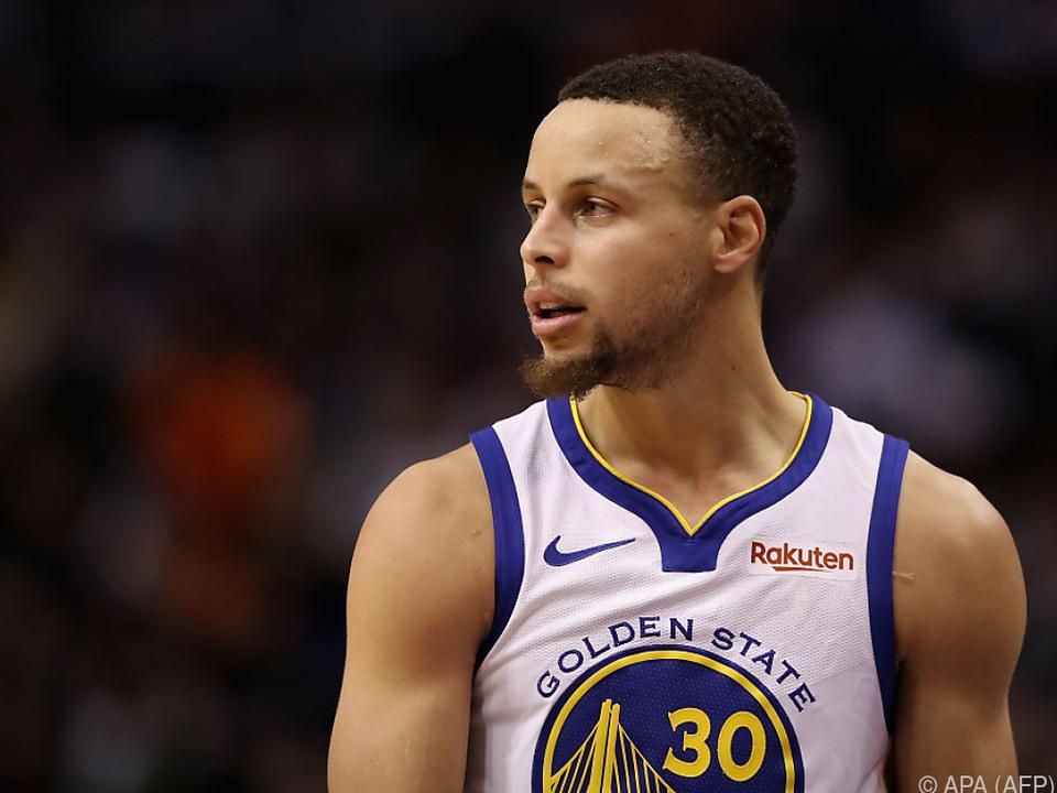 Glück für Stephen Curry und seine Warriors