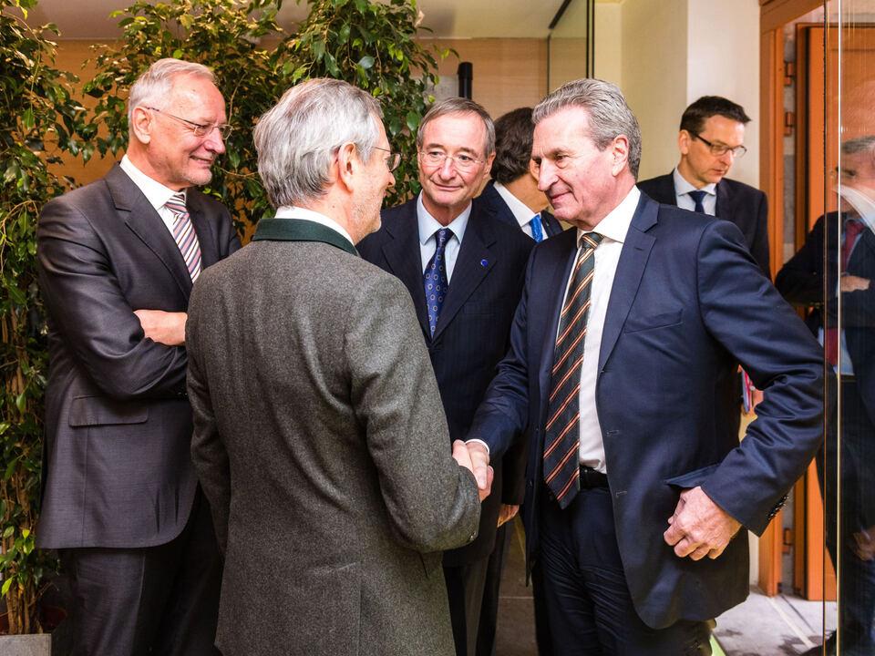 Grenke, Ebner, Leitl, Oettinger (c) Eurochambres