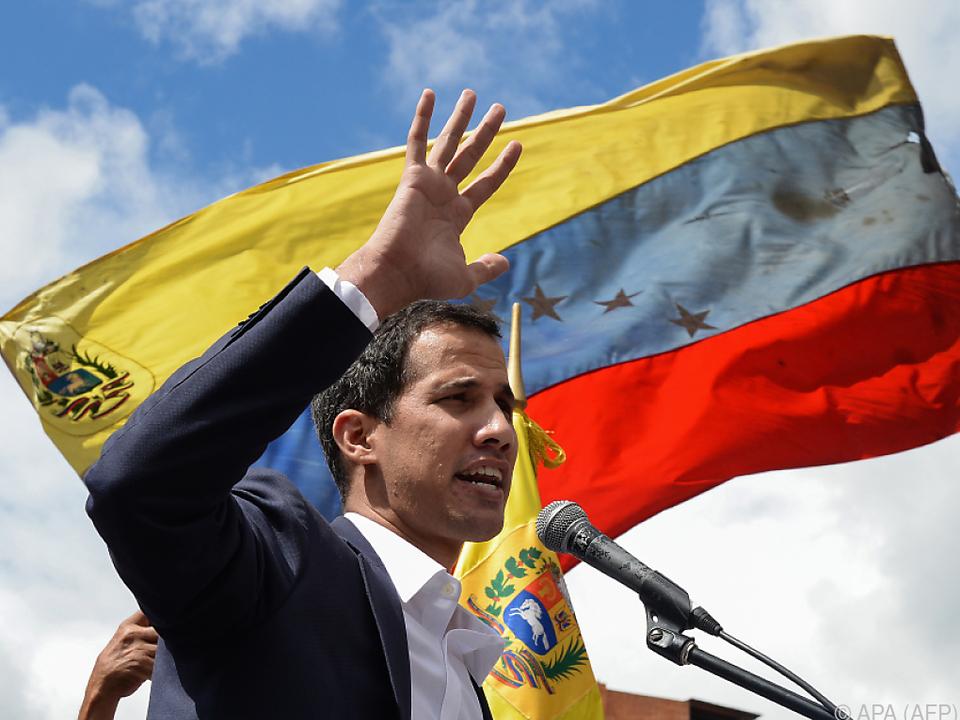 Guaidó hatte sich vor fast zwei Wochen zum Staatsoberhaupt ernannt