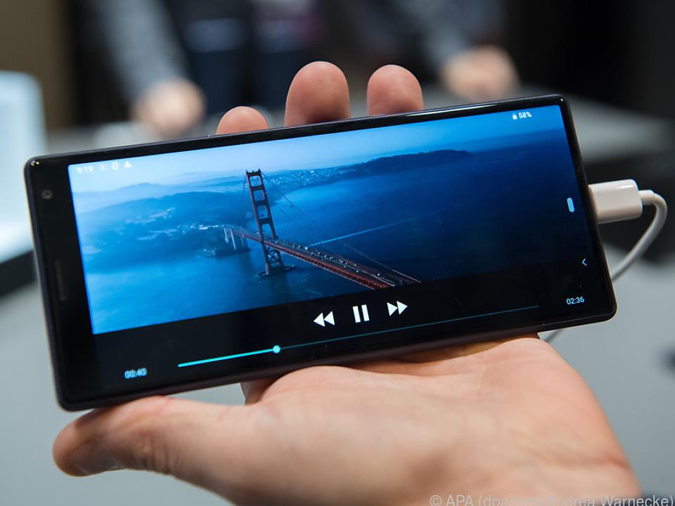 Sonys Xperia 10 und 10 Plus befreien von schwarzen Balken beim Filmeschauen