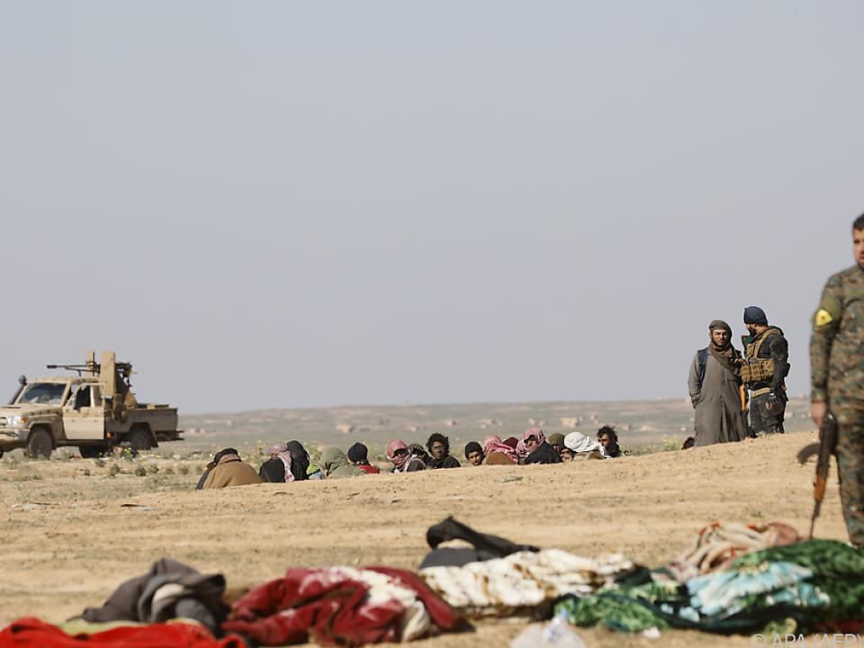 Heftige Gefechte im Osten Syriens