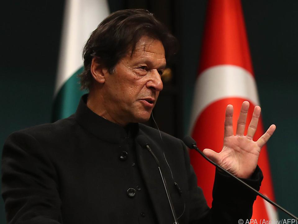 Imran Khan wirft Indien ungerechtfertigte Aggression vor