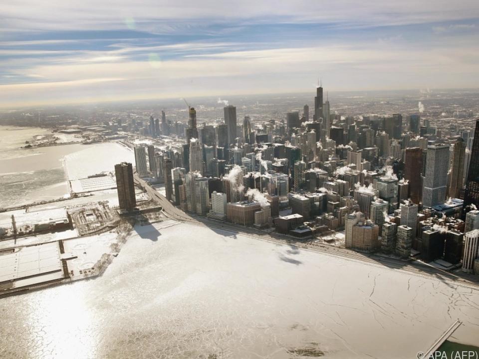 In Chicago ließ der Frost unterdessen etwas nach