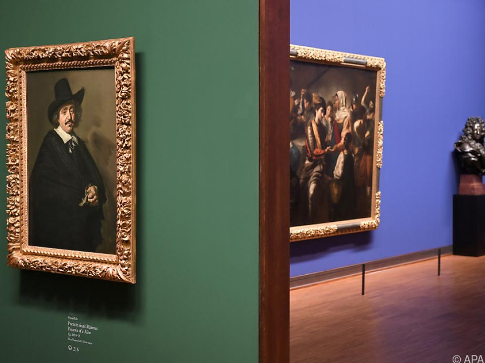 In der Albertina sind zahlreiche Gemälde und Aquarelle zu sehen