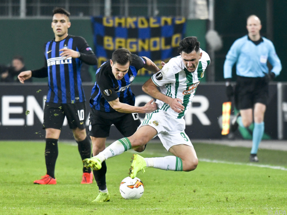 In Wien siegte Inter mit 1:0