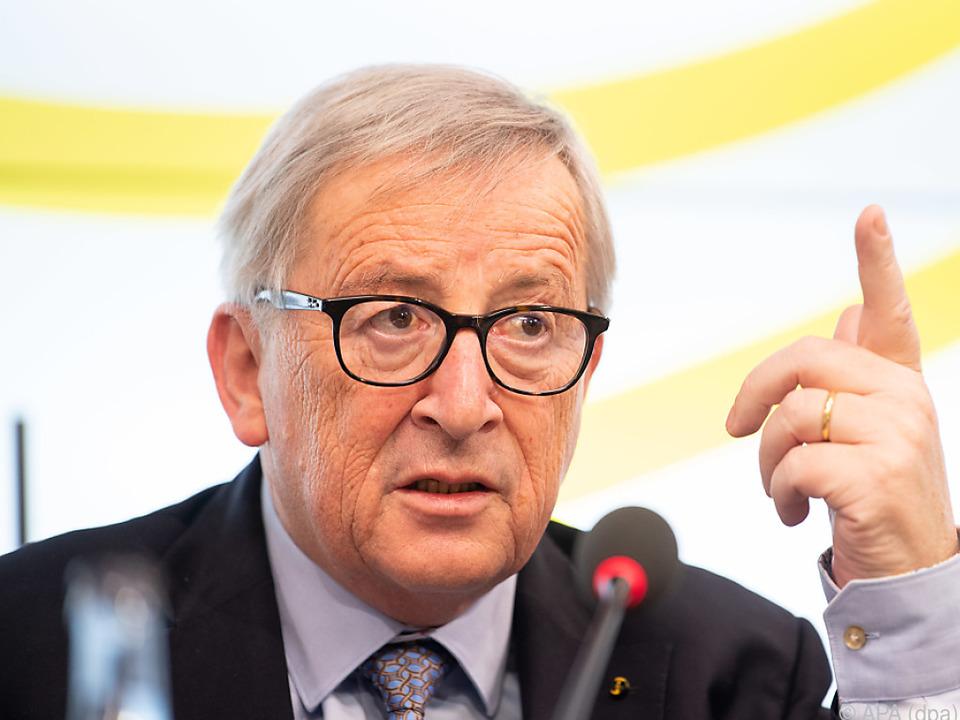 Juncker sieht Großbritannien am Zug