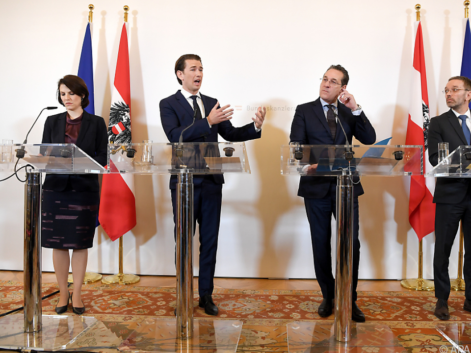 Kanzler Kurz und ÖVP nähern sich Standpunkt der FPÖ an