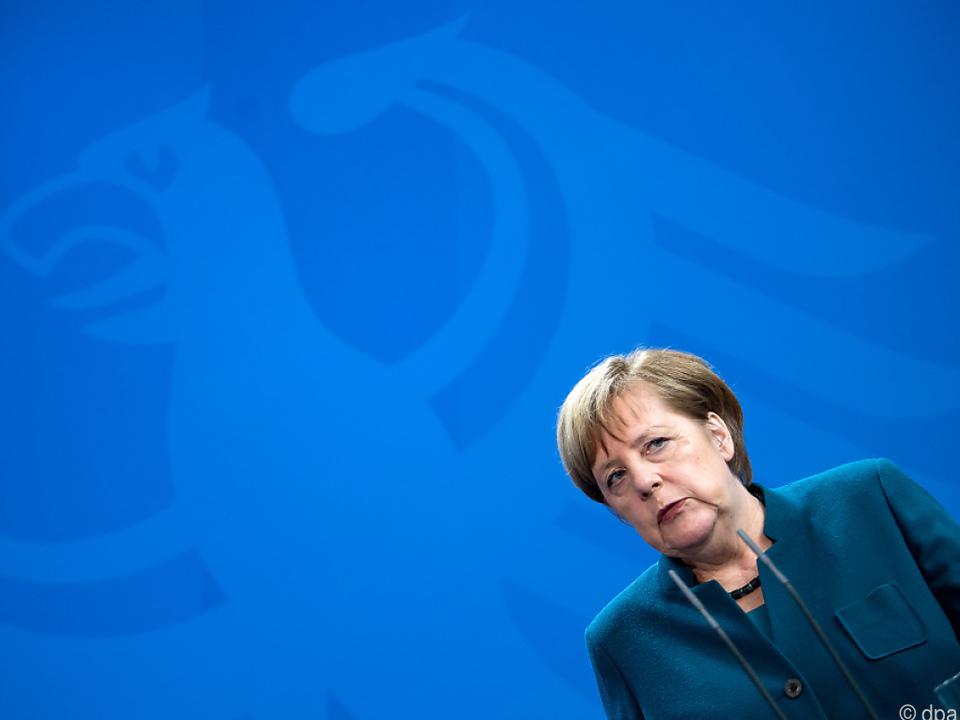Kanzlerin Angela Merkel nimmt nicht an den Gesprächen teil