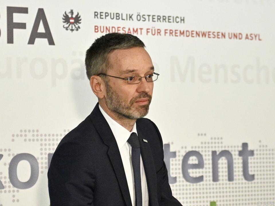 Kickl will den Kurs auf europäischer Ebene ändern