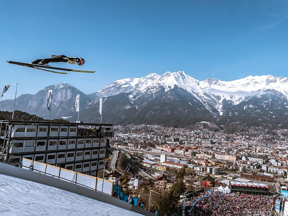 Kraft mit schönem Blick über Innsbruck