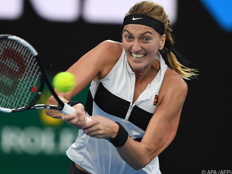 Kvitova leidet noch immer an den Folgen des Überfalls