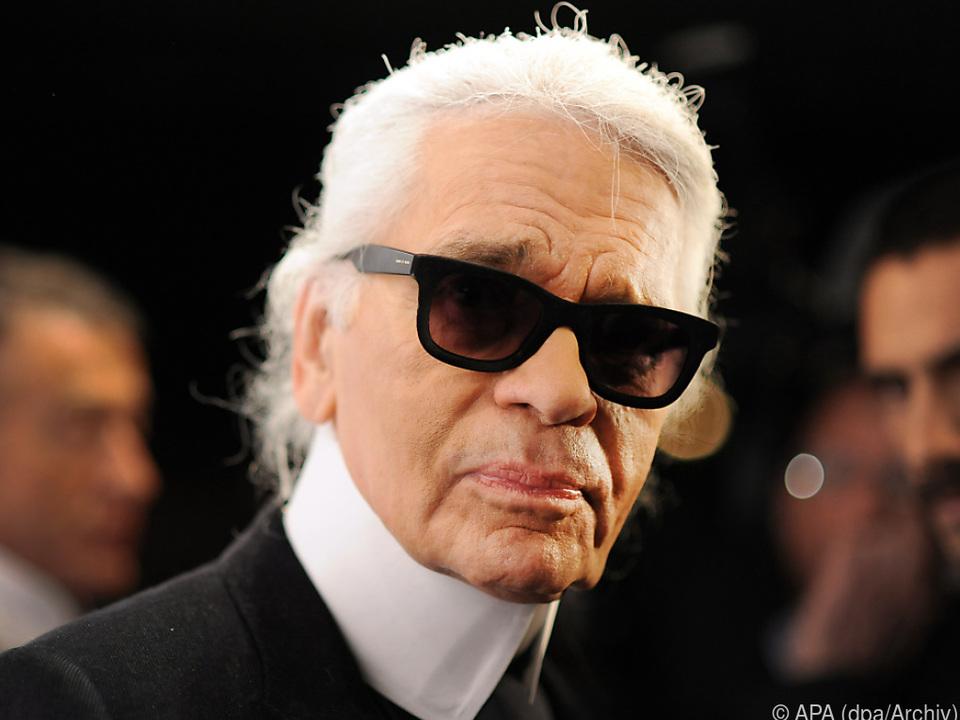 Lagerfeld hatte bei Chanel einen Vertrag auf Lebenszeit