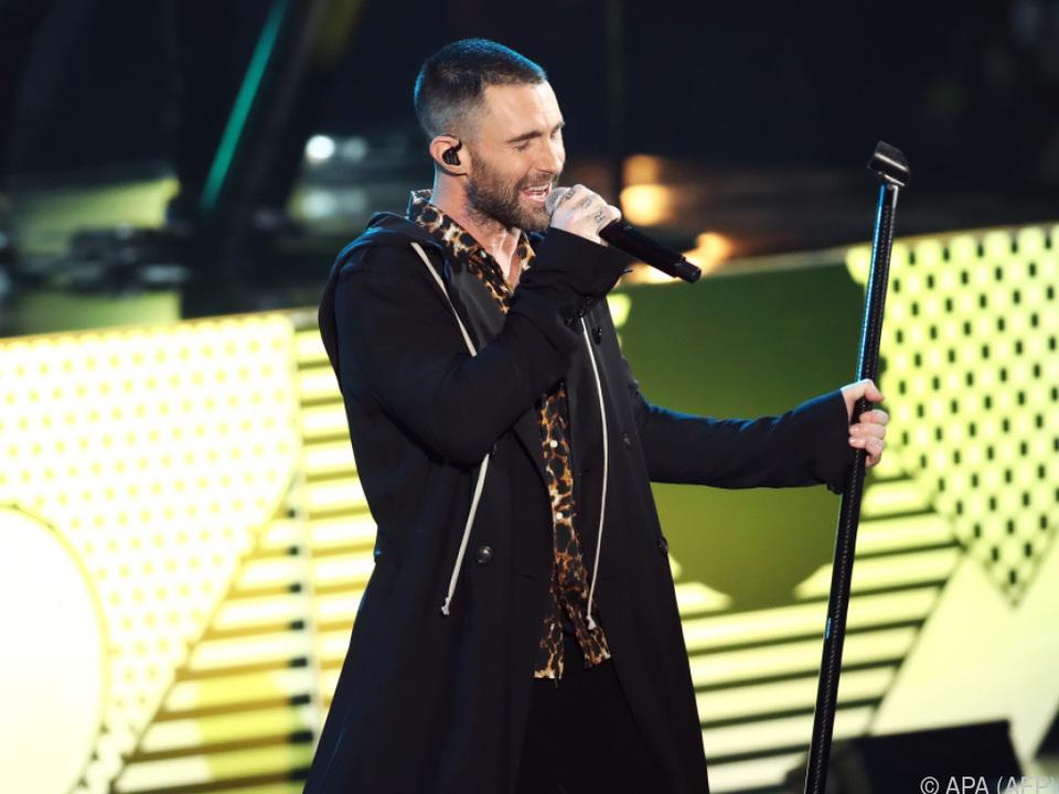 Levine sagt, er habe viel über den Auftritt nachgedacht
