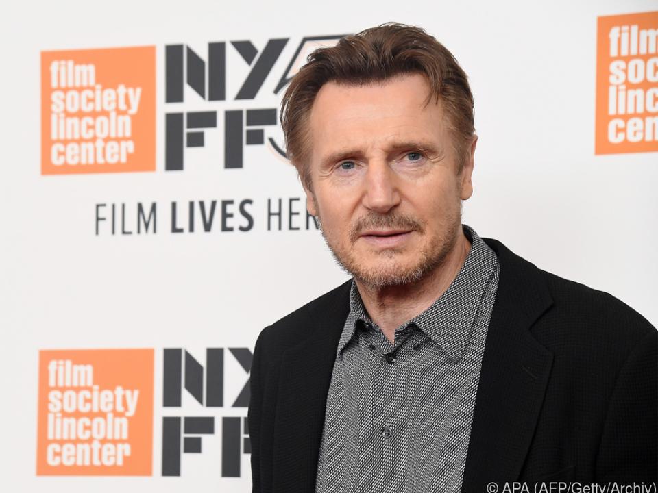 Liam Neeson sorgt für Empörung