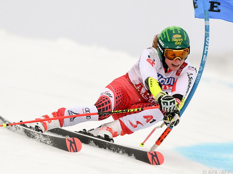 Liensberger traut sich im Slalom durchaus etwas zu