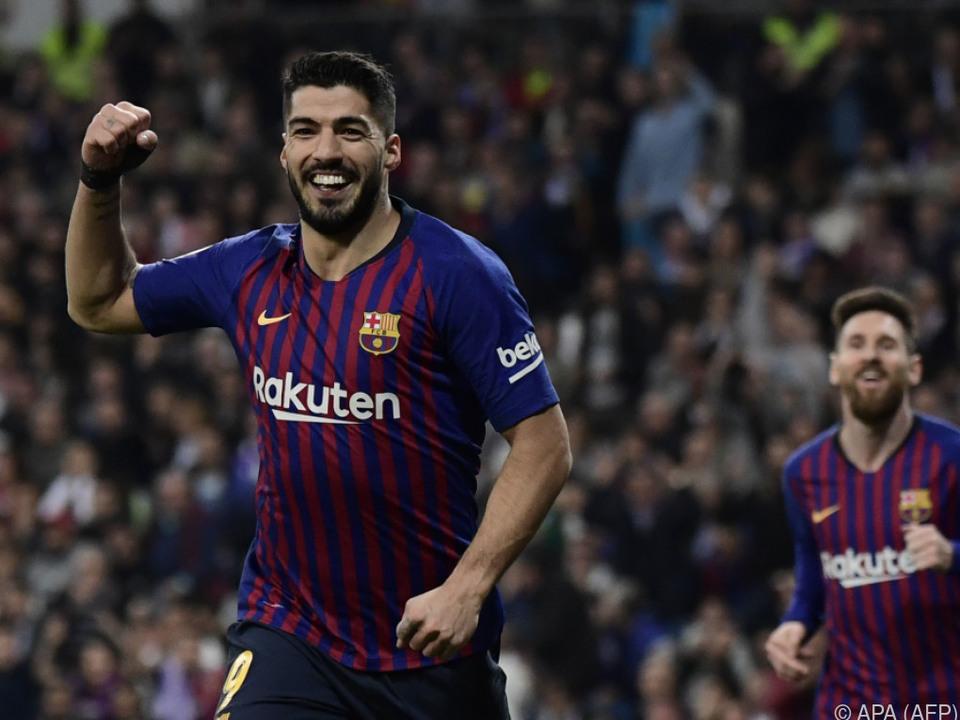 Luis Suarez löste den Knoten mit seinem Tor