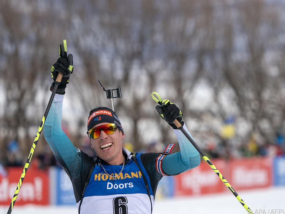 Maillet mit gelungenem Biathlon-Ausflug in die USA