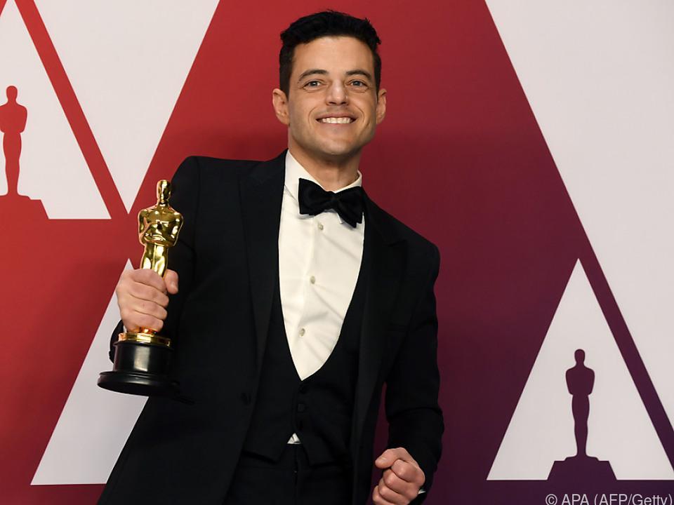 Malek wurde als bester Hauptdarsteller ausgezeichnet