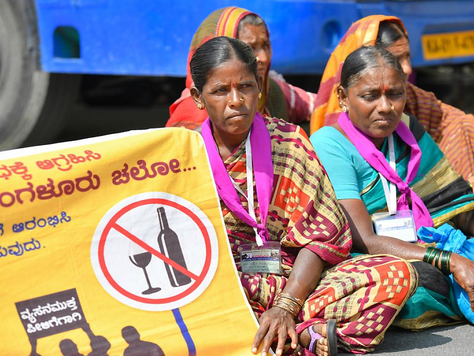 Manche verlangen ein komplettes Verbot von Alkohol
