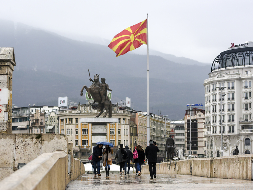 Mazedonien führt nun den Namen Nordmazedonien