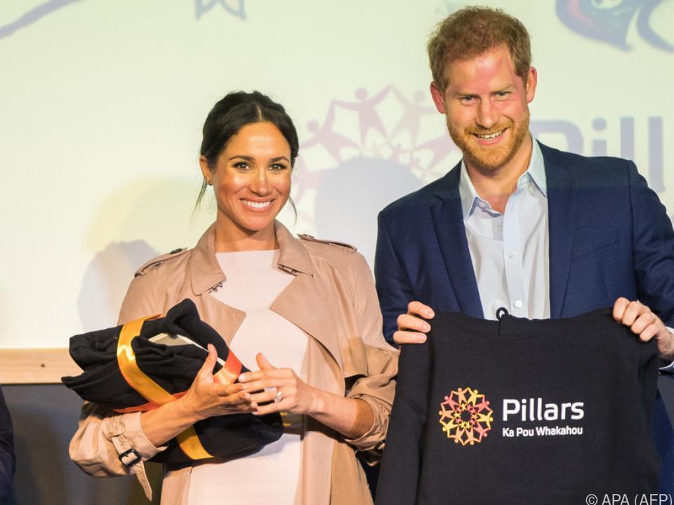 Meghan und Prinz Harry erwarten ein Kind