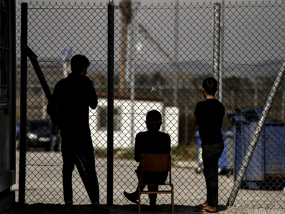 Menschenunwürdige Zustände im Auffanglager Fylakio
