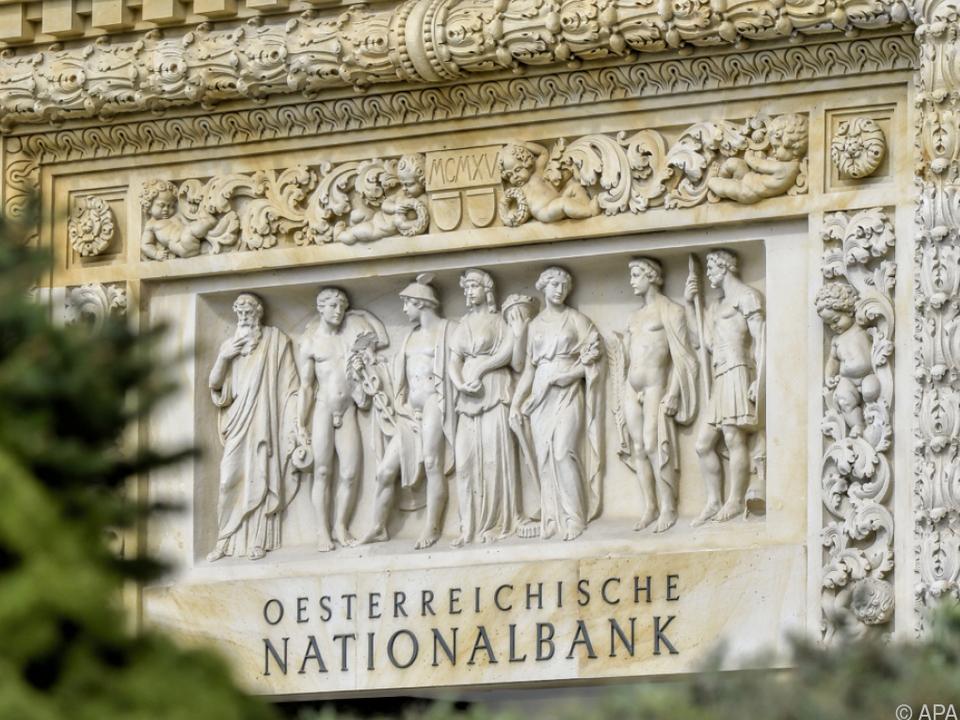 Neue Prognose der Nationalbank