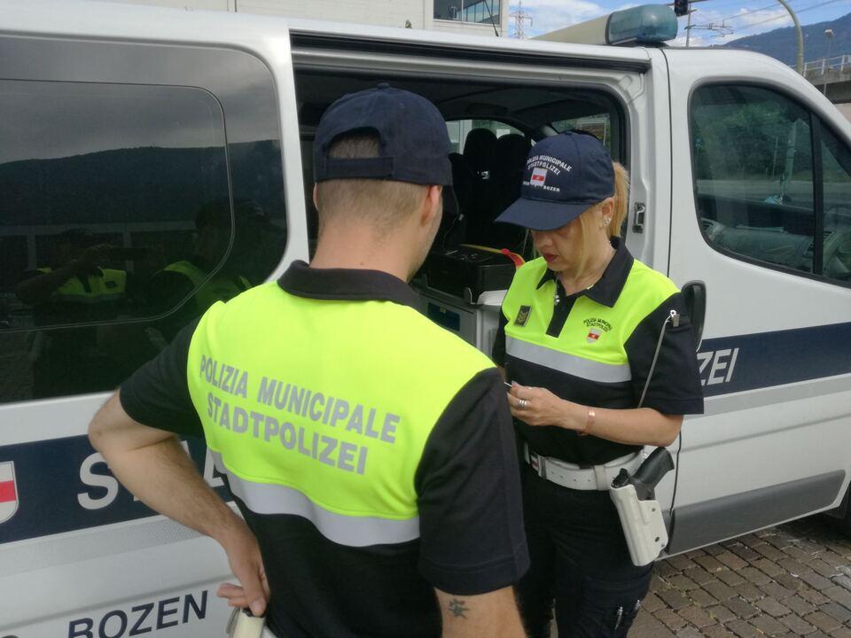 Neue Uniform Stadtpolizei Bozen