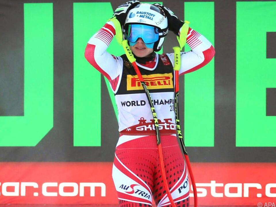 Nicole Schmidhofer war als Elfte die beste ÖSV-Läuferin