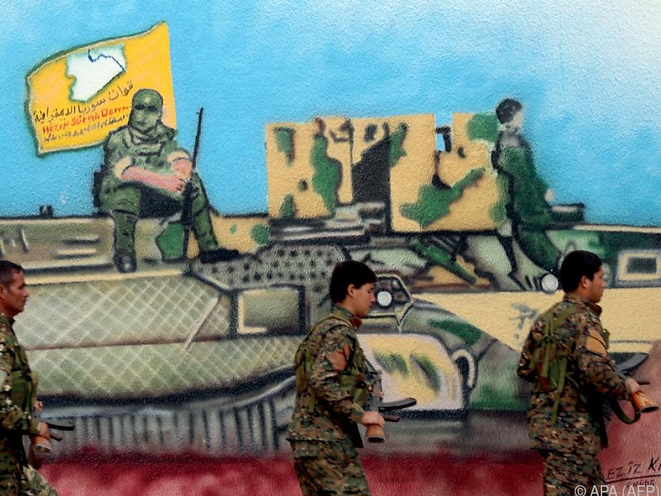 Noch haben sich die letzten IS-Kämpfer den SDF nicht ergeben
