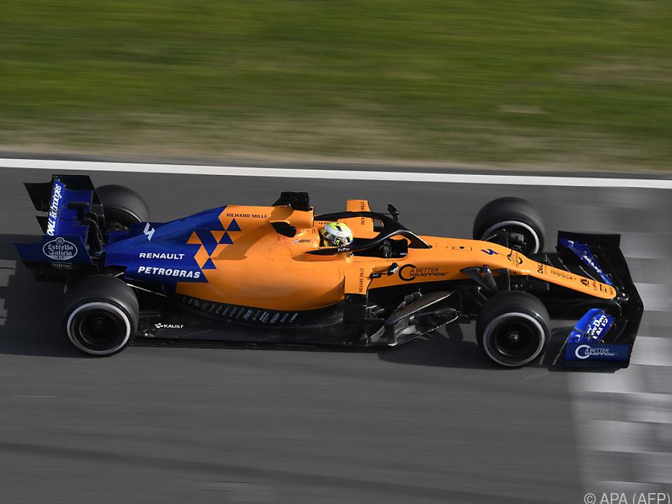 Norris überraschte als Schnellster bei den Tests am Dienstag